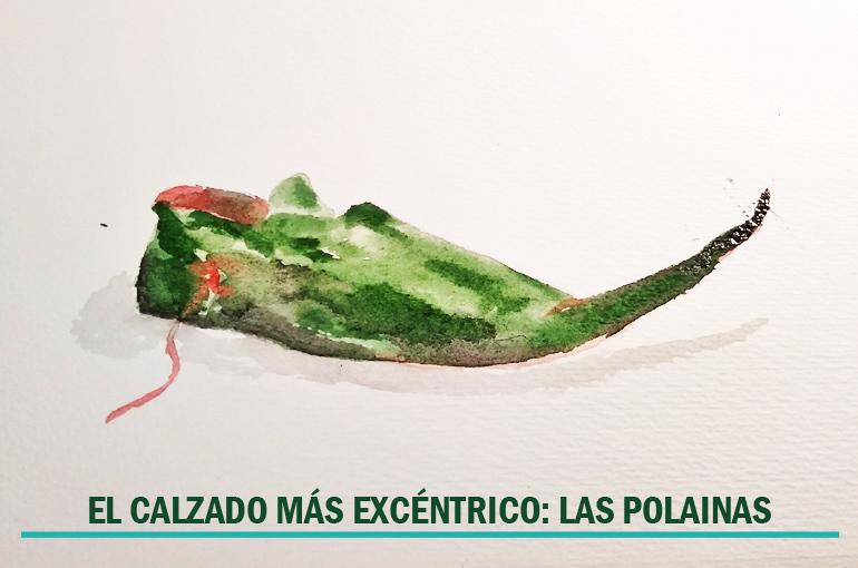 EL CALZADO MÁS EXCÉNTRICO: LAS POLAINAS