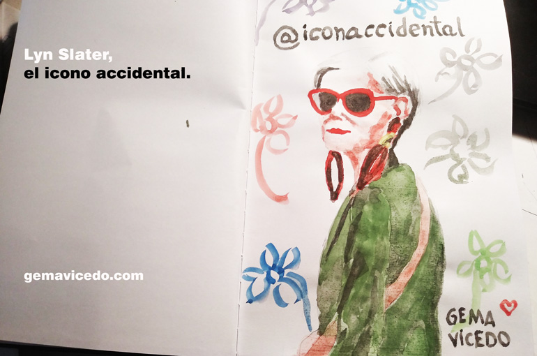Lyn Slater, el icono accidental