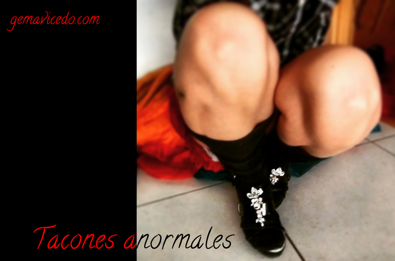 Tacones anormales