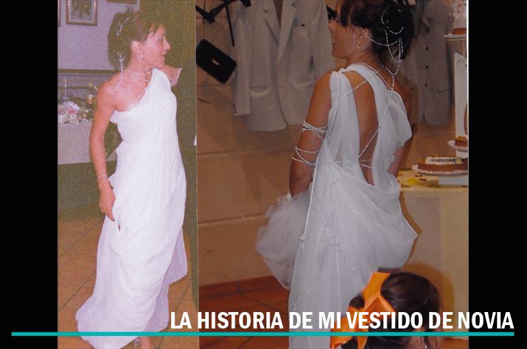 La historia de mi vestido de novia