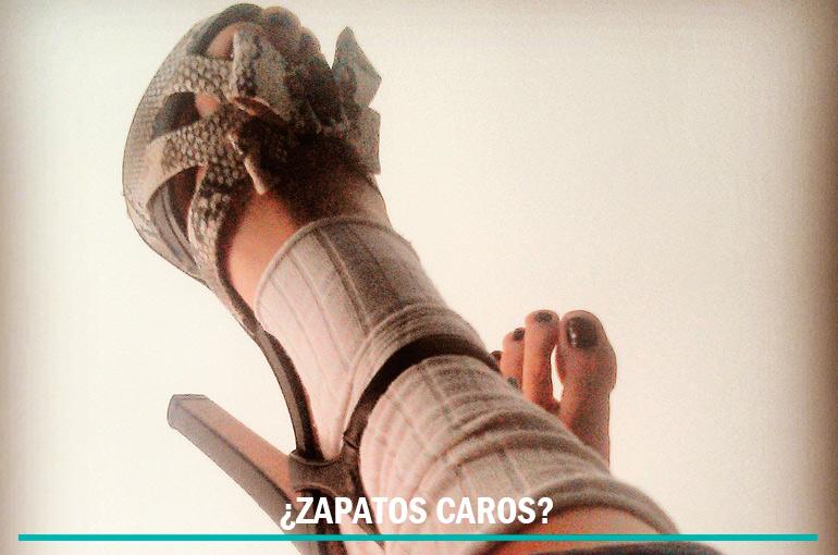 ¿Zapatos caros?